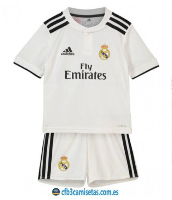 CFB3-Camisetas Real Madrid 1a Equipación NIÑO 2018 2019