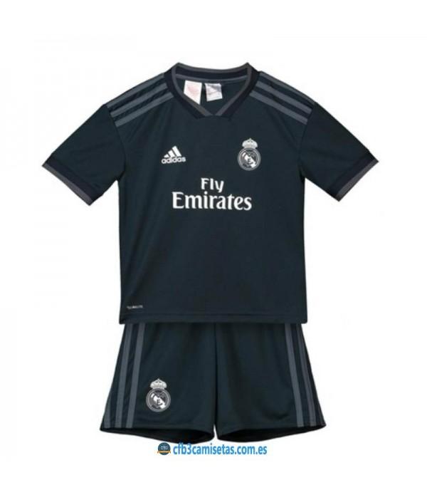 CFB3-Camisetas Real Madrid 2a Equipación NIÑO 2018 2019