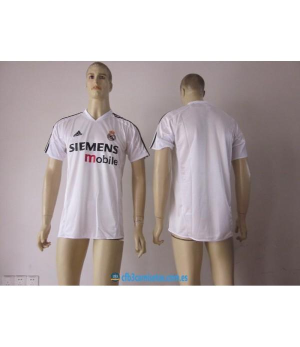 CFB3-Camisetas 1ª Equipación Real Madrid 2004 20...