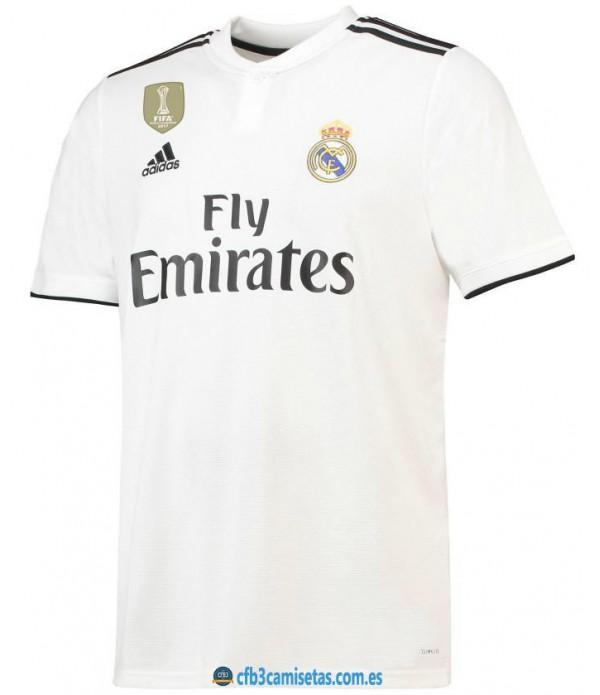 CFB3-Camisetas 1ª Equipación Real Madrid 2018 20...