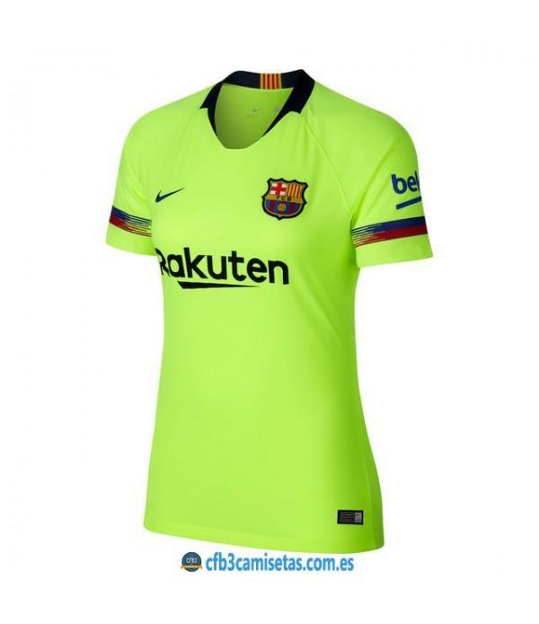 CFB3-Camisetas 2ª Equipación FC Barcelona 2018 2019 MUJER