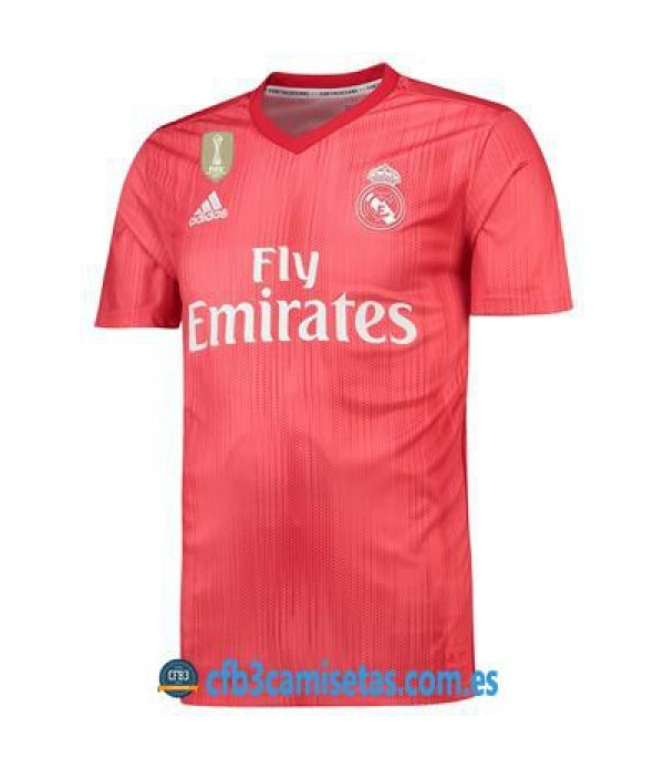 CFB3-Camisetas 3ª Equipación Real Madrid 2018 2019
