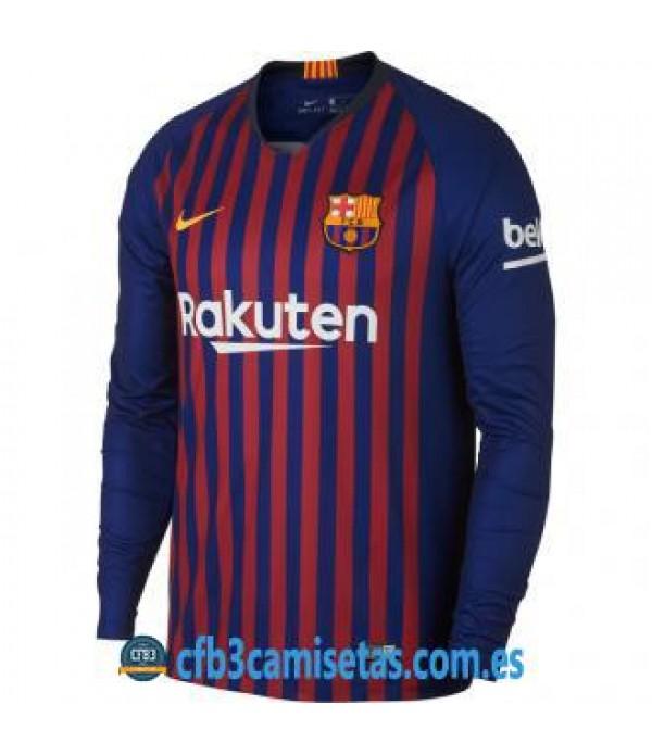 CFB3-Camisetas FC Barcelona 1a Equipación 2018 2019 ML