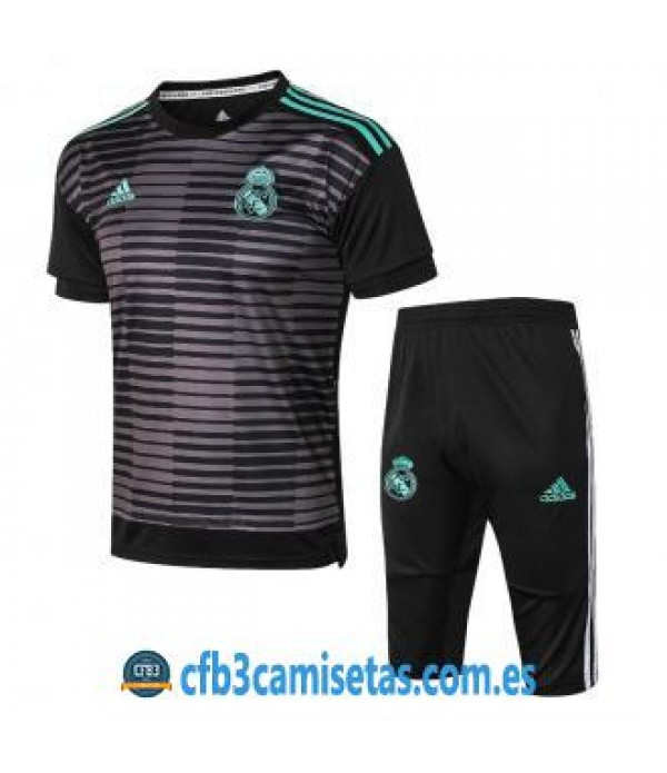 CFB3-Camisetas Kit entrenamiento Real Madrid 2018 2019