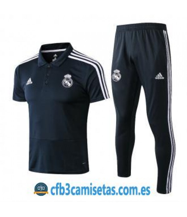 CFB3-Camisetas Polo + Pantalones Real Madrid 2018 ...
