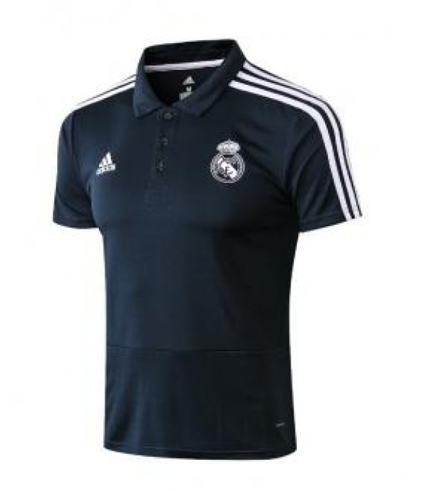 CFB3-Camisetas Polo Real Madrid 2018 2019