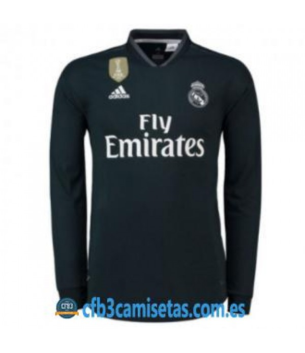 CFB3-Camisetas Real Madrid 2a Equipación 2018 2019 ML
