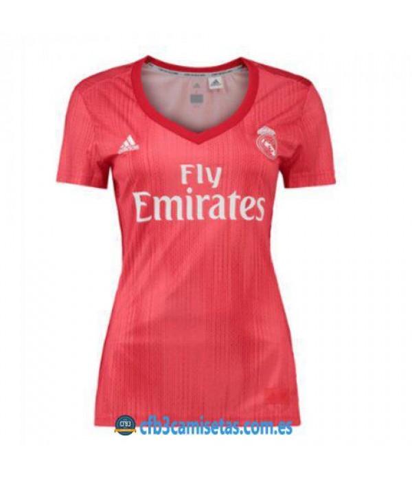 CFB3-Camisetas Real Madrid 3a Equipación 2018 2019 MUJER