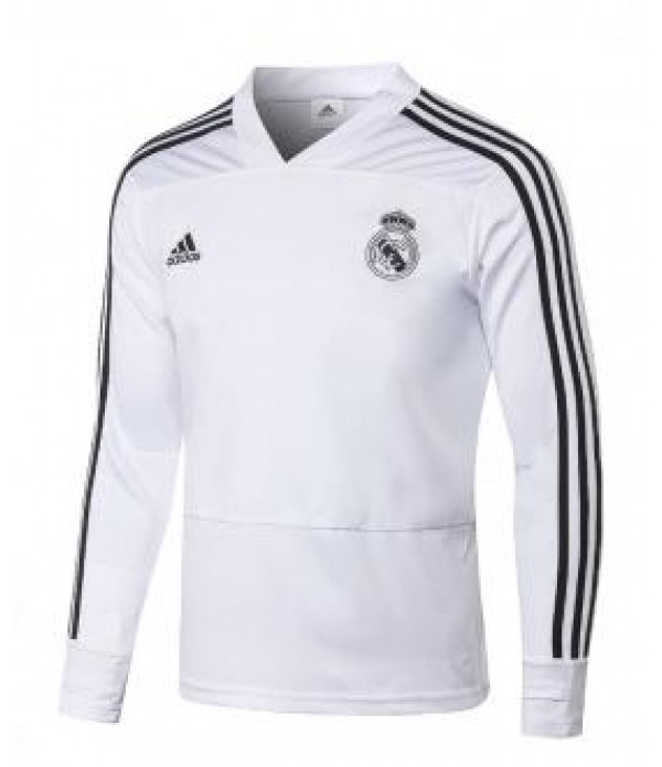CFB3-Camisetas Sudadera Real Madrid 2018 2019