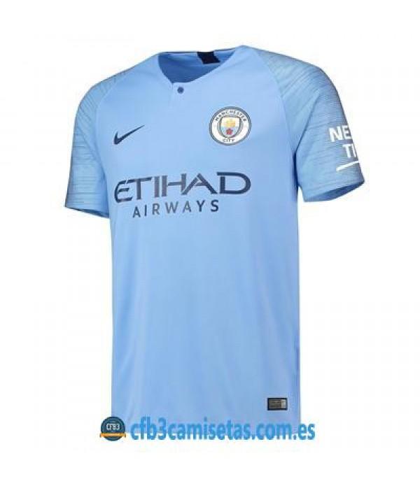 CFB3-Camisetas 1ª Equipación Manchester City 2018 2019