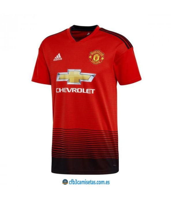 CFB3-Camisetas 1ª Equipación Manchester United 2018 2019