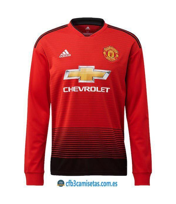 CFB3-Camisetas 1ª Equipación Manchester United 2018 2019 ML