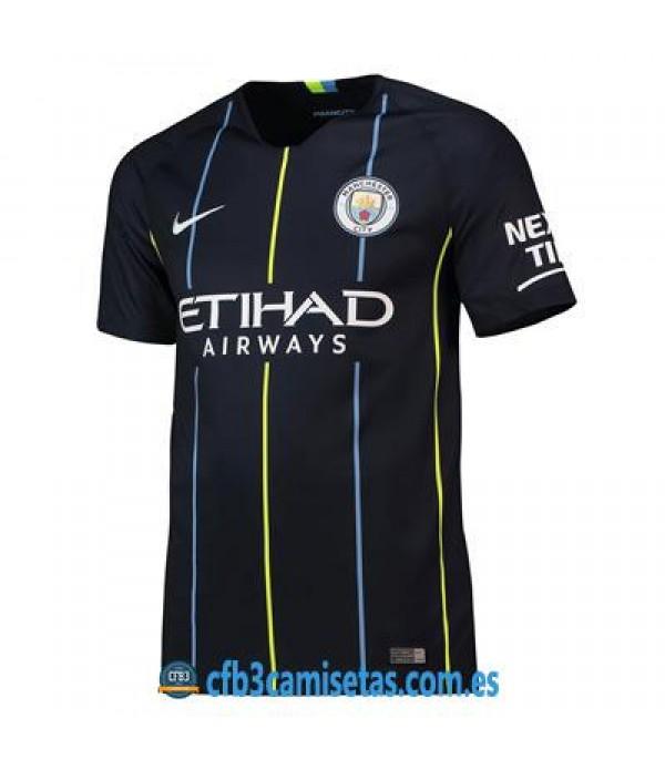 CFB3-Camisetas 2ª Equipación Manchester City 2018 2019