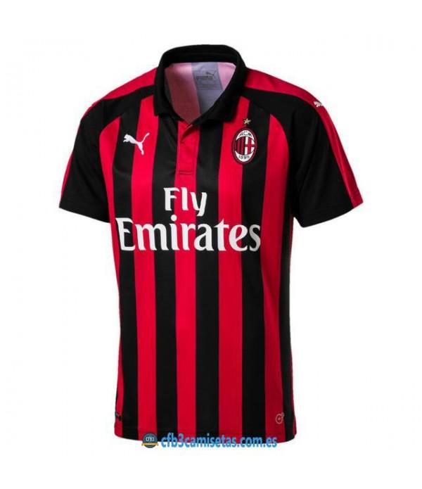CFB3-Camisetas AC Milan 1ª Equipacion 2018/2019