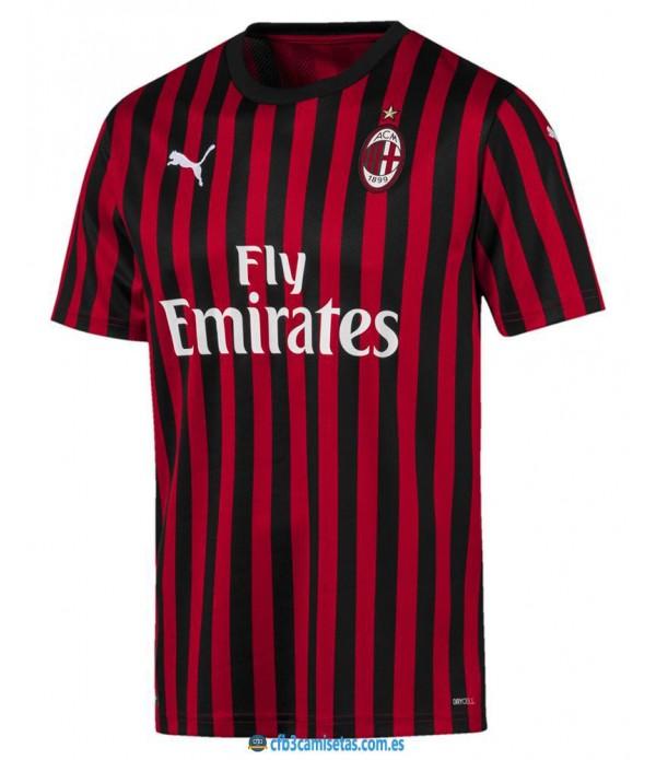 CFB3-Camisetas AC Milan 1a Equipación 2019 2020