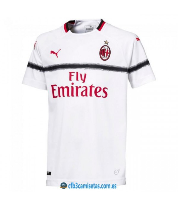 CFB3-Camisetas AC Milan 2ª Equipacion 2018/2019