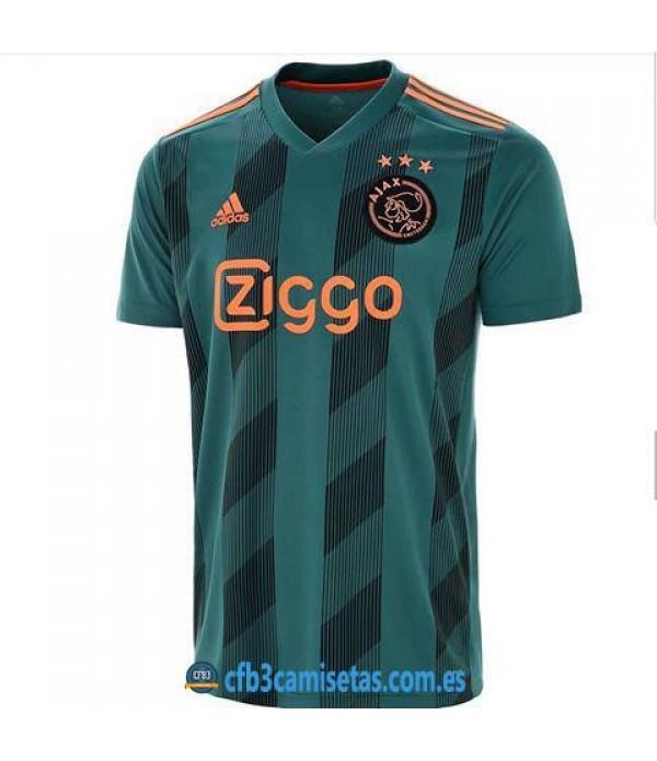 CFB3-Camisetas Ajax 2a Equipación 2019 2020