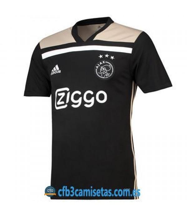 CFB3-Camisetas Ajax Amsterdam 2ª Equipacion 2018 2019