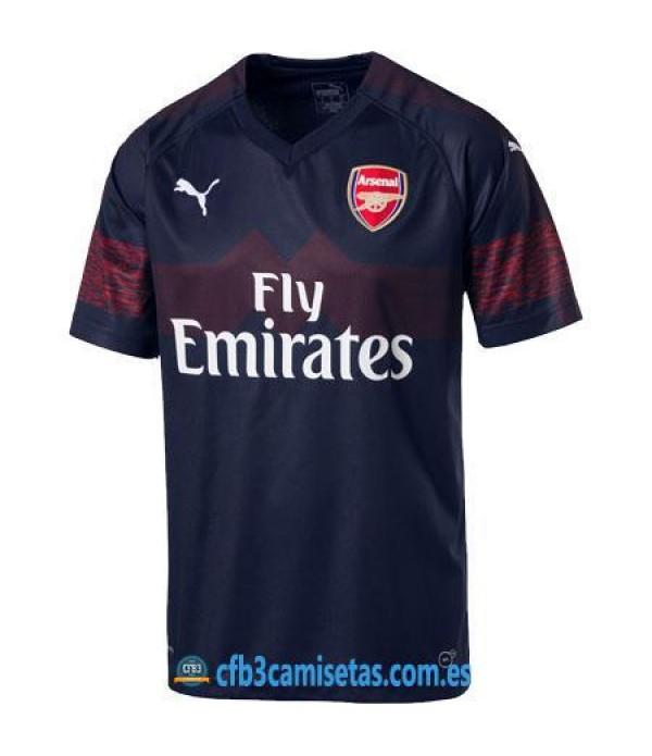 CFB3-Camisetas Arsenal 2ª Equipación 2018/2019