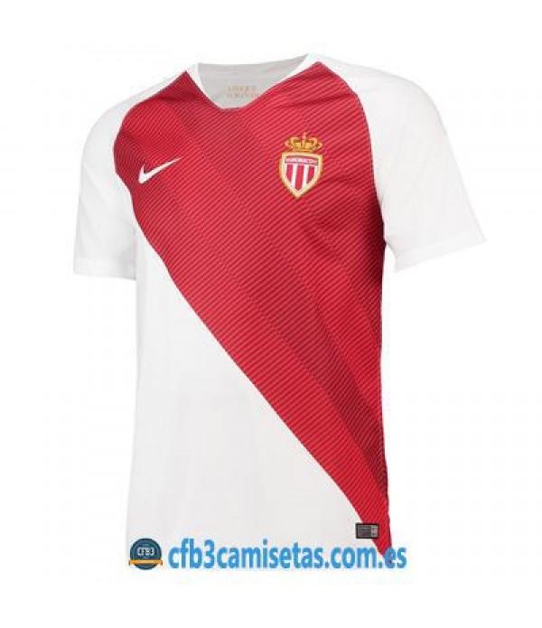 CFB3-Camisetas AS Monaco 1ª equipación 2018/2019