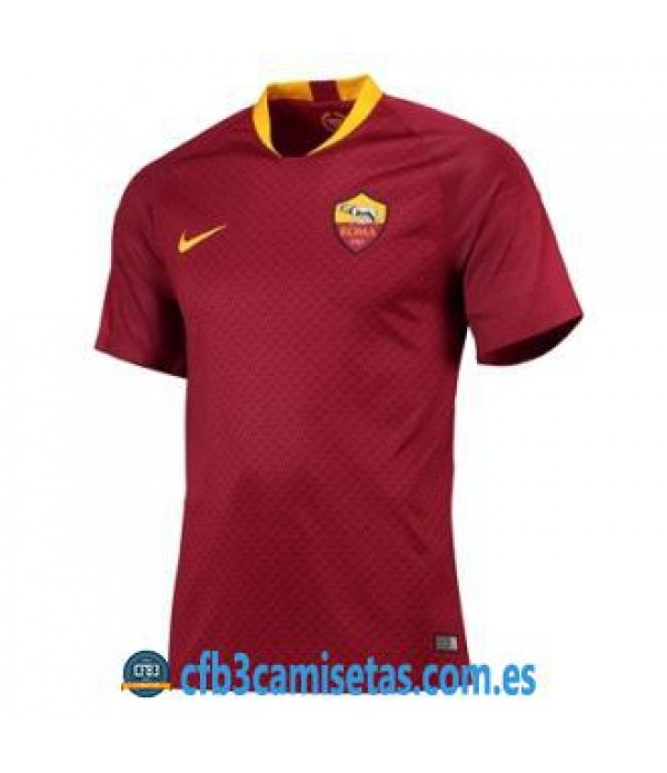 CFB3-Camisetas AS Roma 1a Equipación 2018 2019