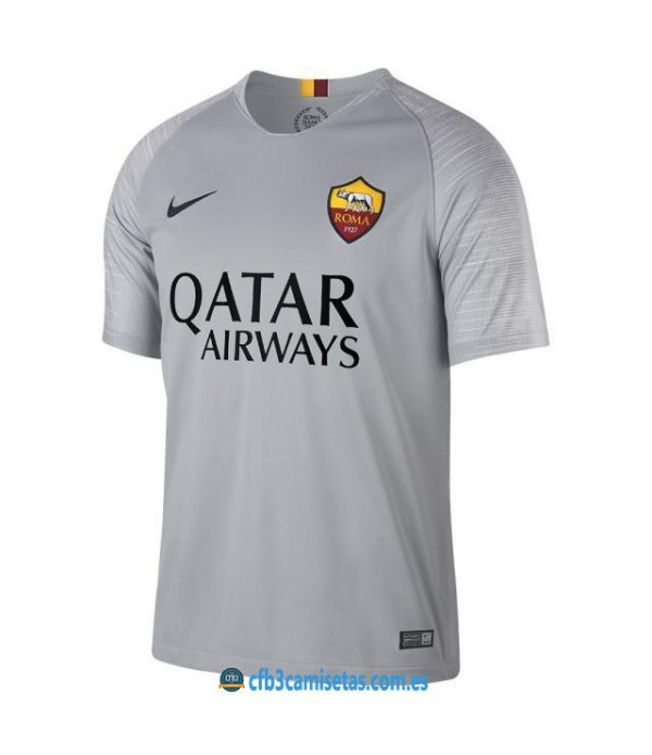 CFB3-Camisetas AS Roma 2a Equipación 2018 2019