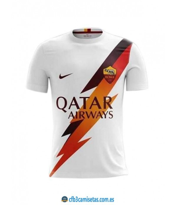 CFB3-Camisetas AS Roma 2a Equipación 2019 2020