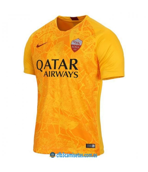 CFB3-Camisetas AS Roma 3a Equipación 2018 2019