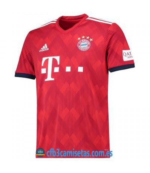 CFB3-Camisetas Bayern Munich 1a Equipación 2018 2019