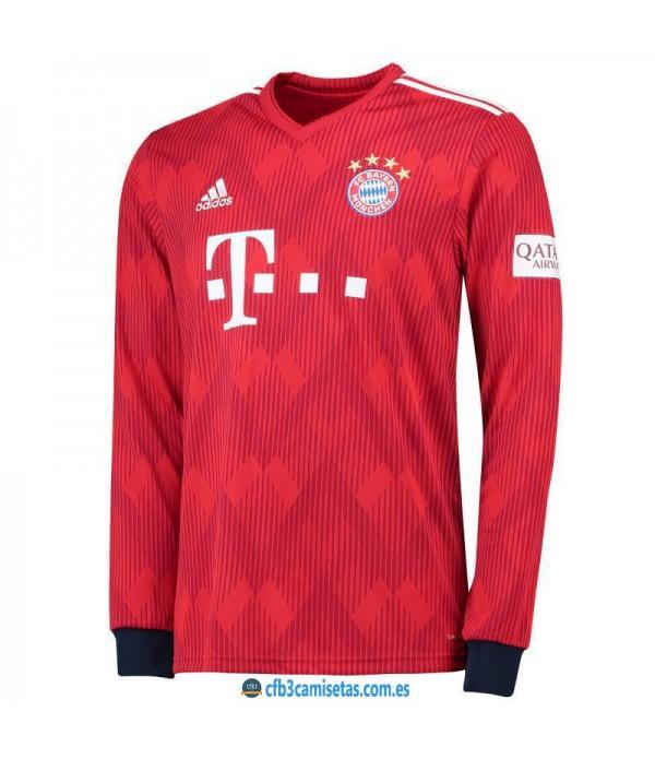 CFB3-Camisetas Bayern Munich 1a Equipación 2018 2019 ML