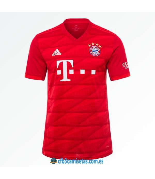 CFB3-Camisetas Bayern Munich 1a Equipación 2019 2020