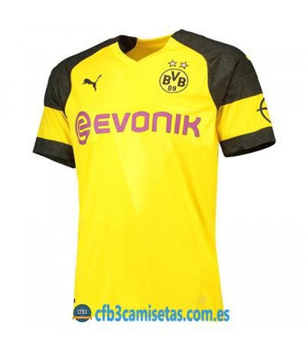 CFB3-Camisetas Borussia Dortmund 1a Equipación 2018 2019