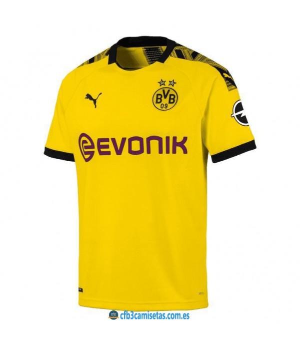 CFB3-Camisetas Borussia Dortmund 1a Equipación 2019 2020