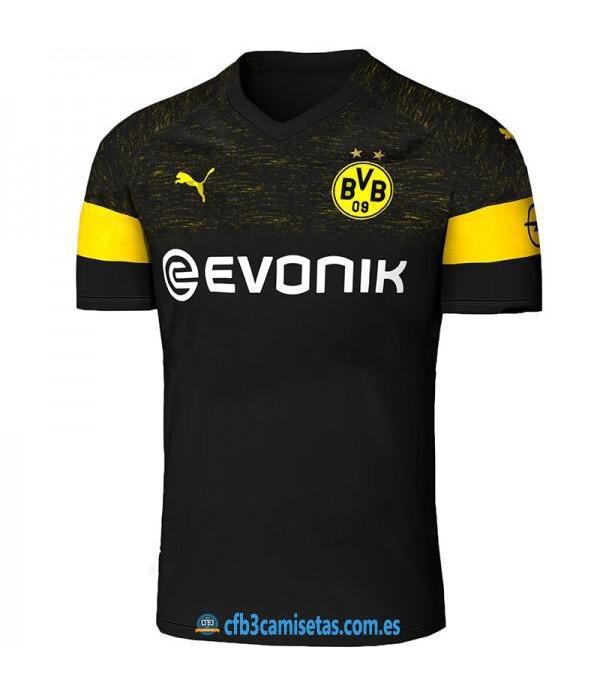 CFB3-Camisetas Borussia Dortmund 2a Equipación 2018 2019