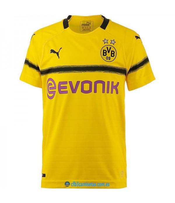 CFB3-Camisetas Borussia Dortmund 3a Equipación 2018 2019