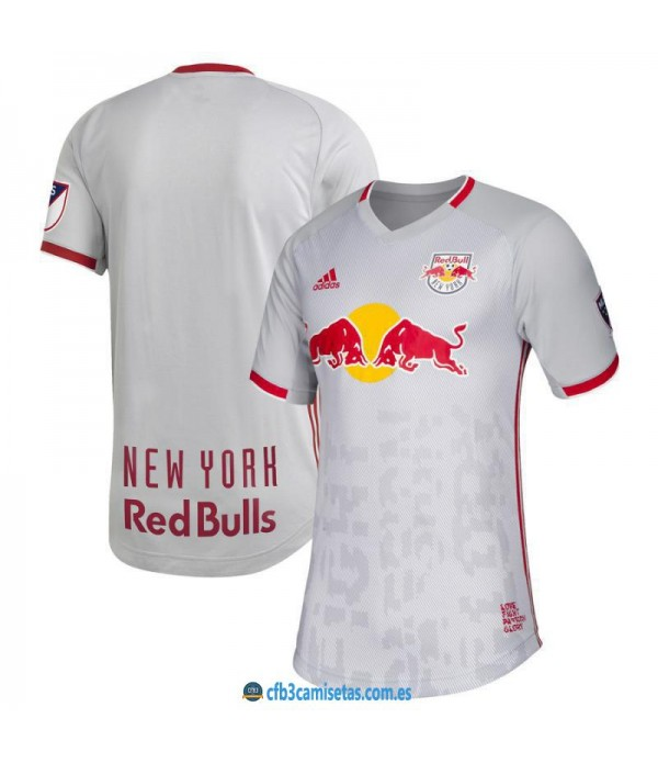 CFB3-Camisetas Camiseta New York Red Bulls 1a 2019 2020