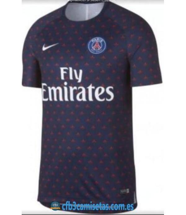 CFB3-Camisetas Camiseta PSG Pre Partido 2019 UCL