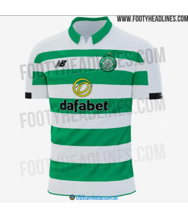 CFB3-Camisetas Celtic Glasgow 1a Equipación 2019 2020