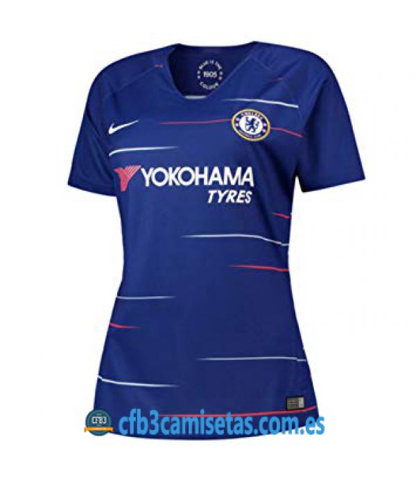 CFB3-Camisetas Chelsea 1ª Equipación 2018/2019 M...