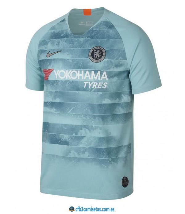 CFB3-Camisetas Chelsea 3a Equipación 2018 2019
