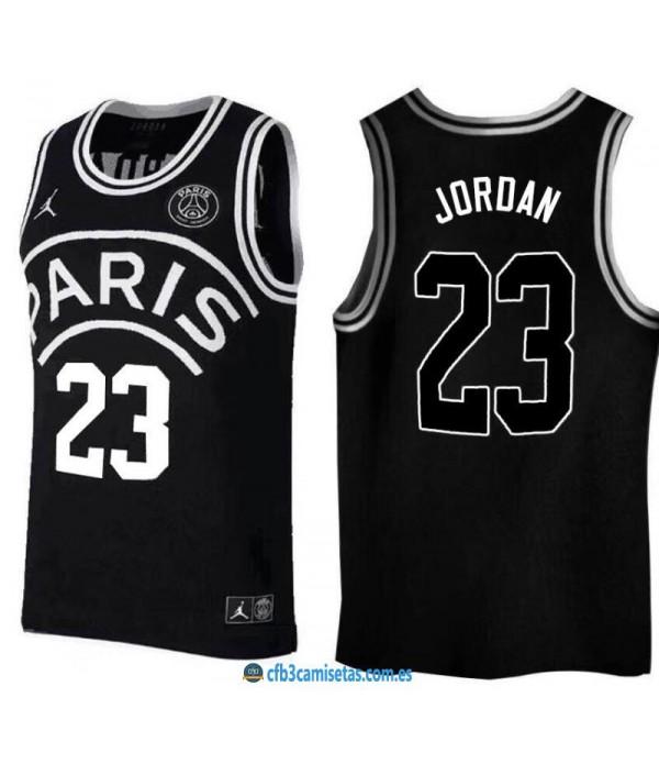 CFB3-Camisetas Jordan 23 Jordan x PSG Flight Black