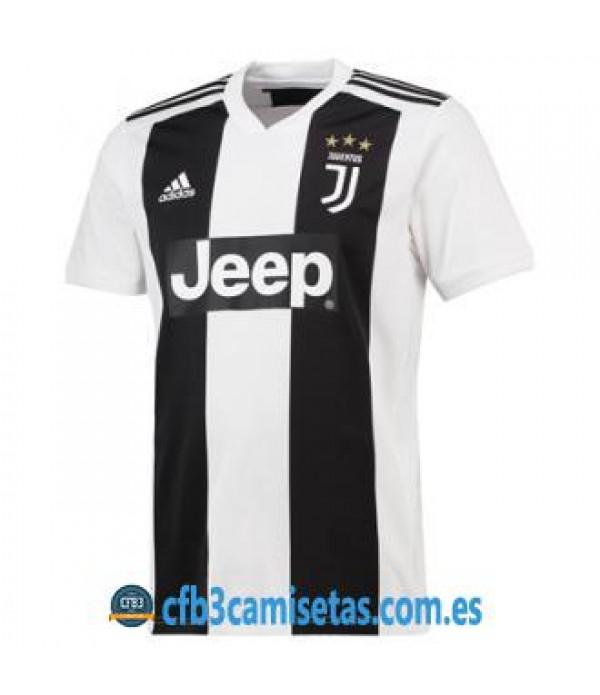 CFB3-Camisetas Juventus 1a Equipación 2018 2019