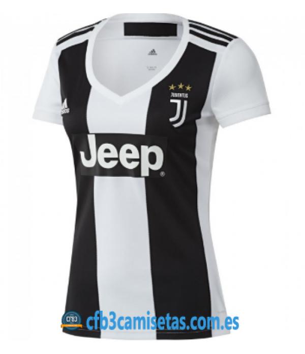 CFB3-Camisetas Juventus 1a Equipación 2018 2019 MUJER