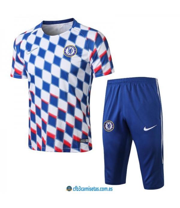 CFB3-Camisetas Kit Entrenamiento Chelsea 2018 2019