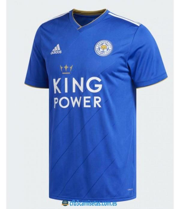 CFB3-Camisetas Leicester City 1a Equipación 2018 2019
