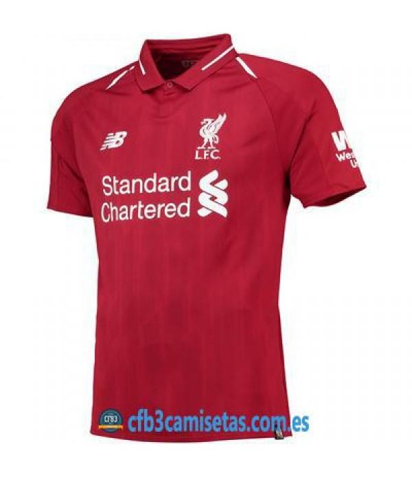 CFB3-Camisetas Liverpool 1ª Equipación 2018 2019