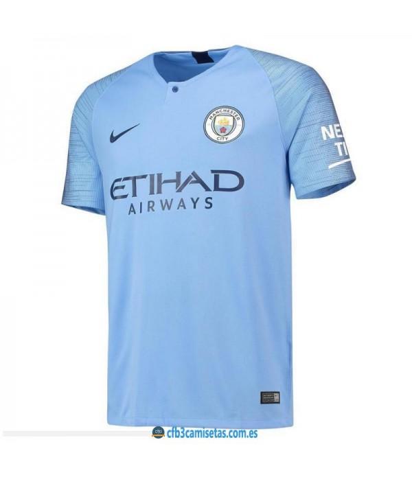 CFB3-Camisetas Manchester City 1a Equipación 2018 2019