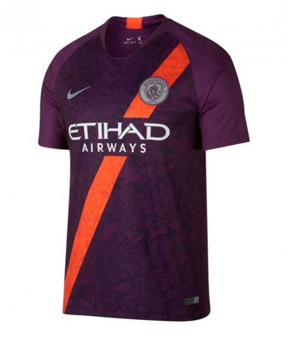 CFB3-Camisetas Manchester City 3a Equipación 2018...