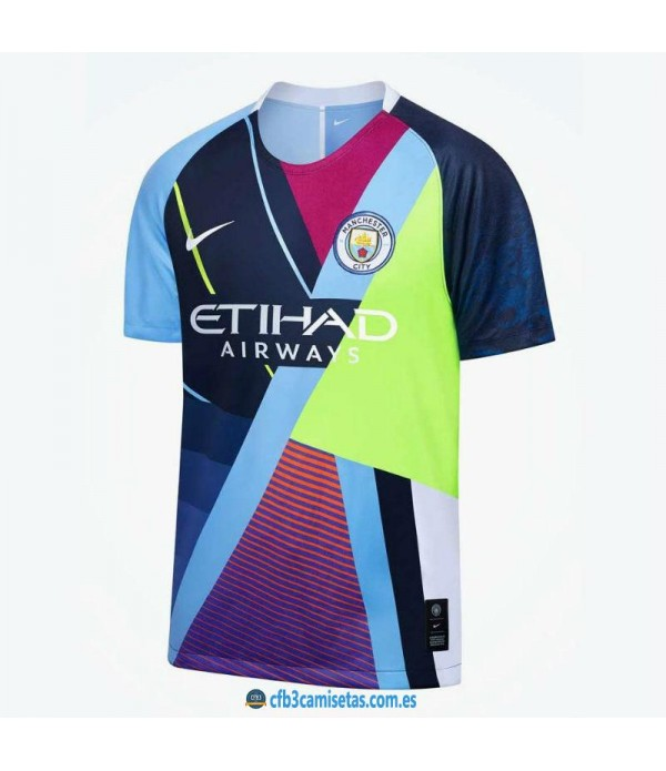 CFB3-Camisetas Manchester City x Nike Mashup 2019