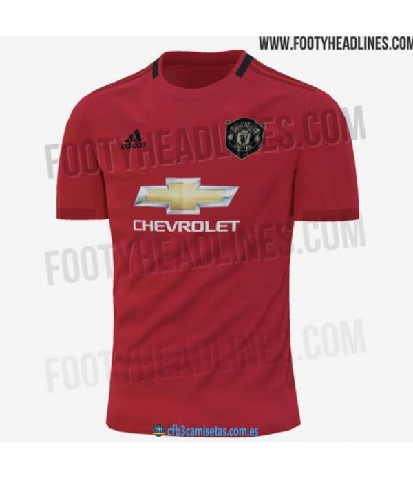 CFB3-Camisetas Manchester United 1a Equipación 2019 2020